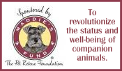 Maddies Fund To revolutionize the status and well-being of companion animals.